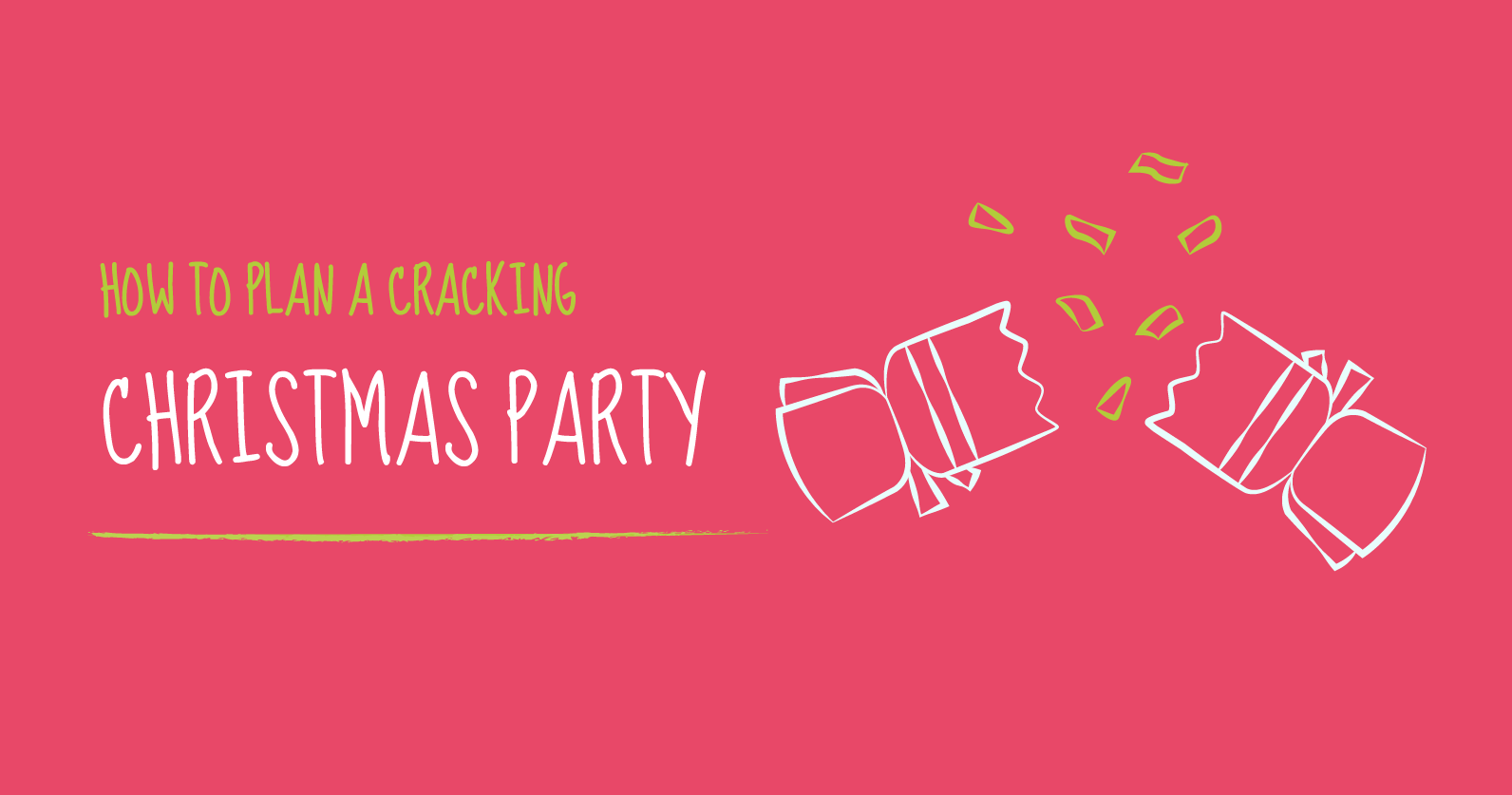 how to plan a cracking christmas party hr180