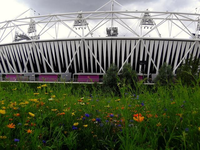 London 2012 Olympic Stadium (Flickr.com/ DAVID HOLT)