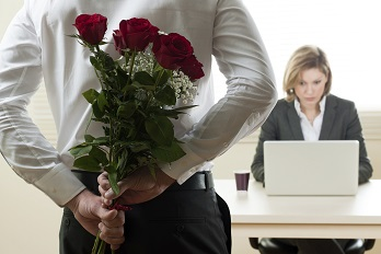 Valentines Day and Workplace relationships hr180.co.uk